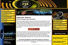 WKZE FM screenshot